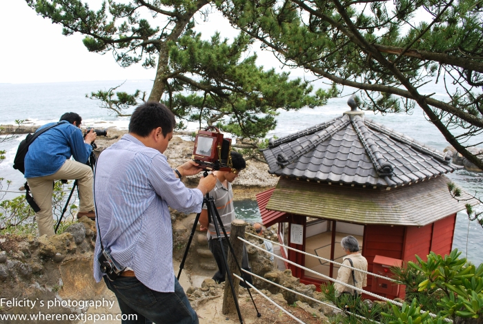 Tenshin Okakura, a famous Japanese scholar, built the Rokkakudo, now lost in the tsunami.