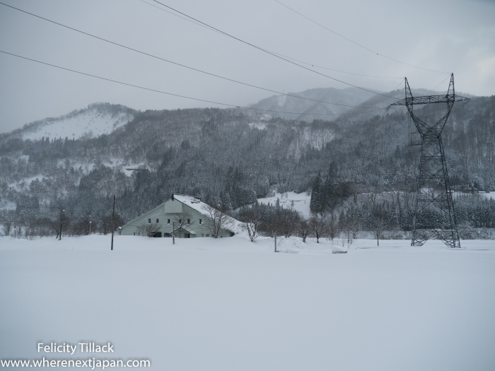 Some parts of Japan get a lot of snow