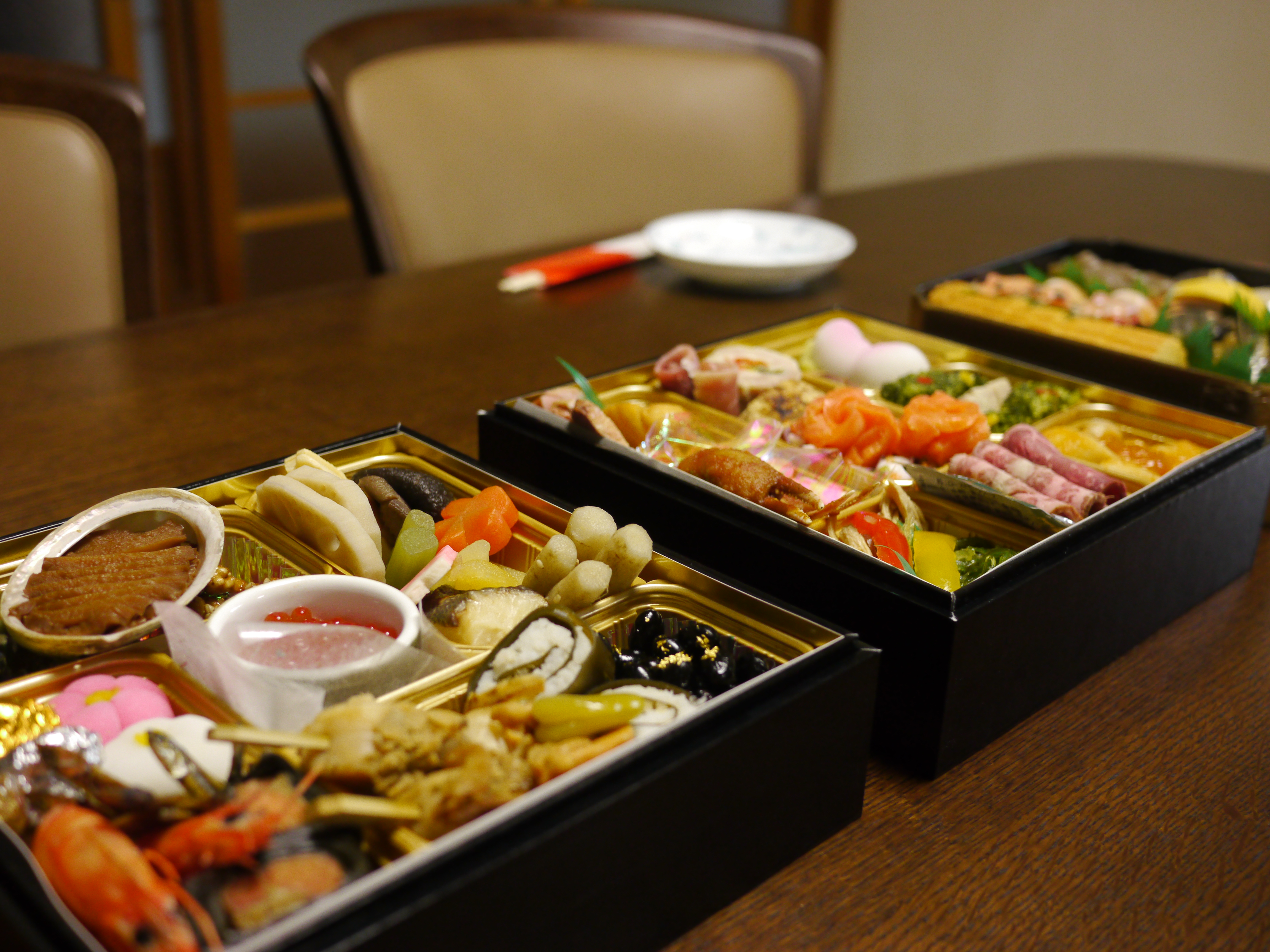 Traditional japanese food slightly non traditional for Abis japanese traditional cuisine