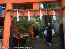 Autumn festival in Koyasan